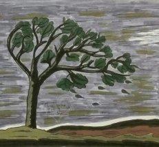 Baum im Gewitter