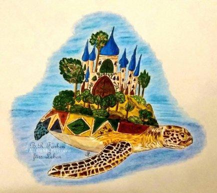 Riesenmeheresschildkröte