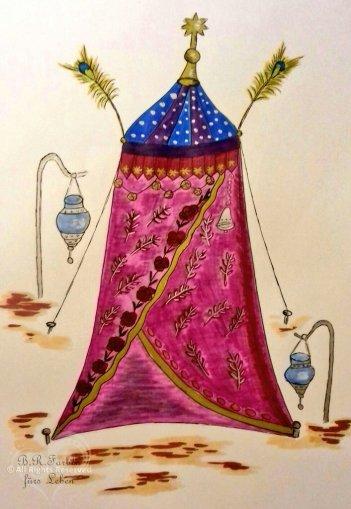 Orientalisches Zelt